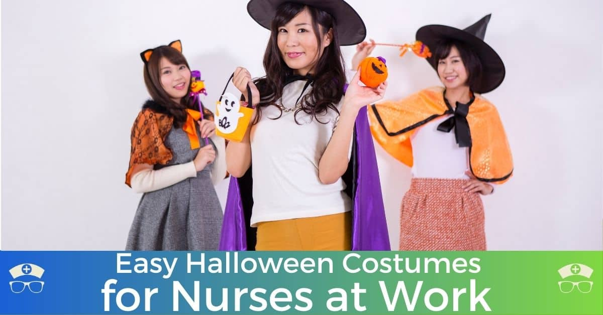 Easy Halloween Costumes for Nurses at Work