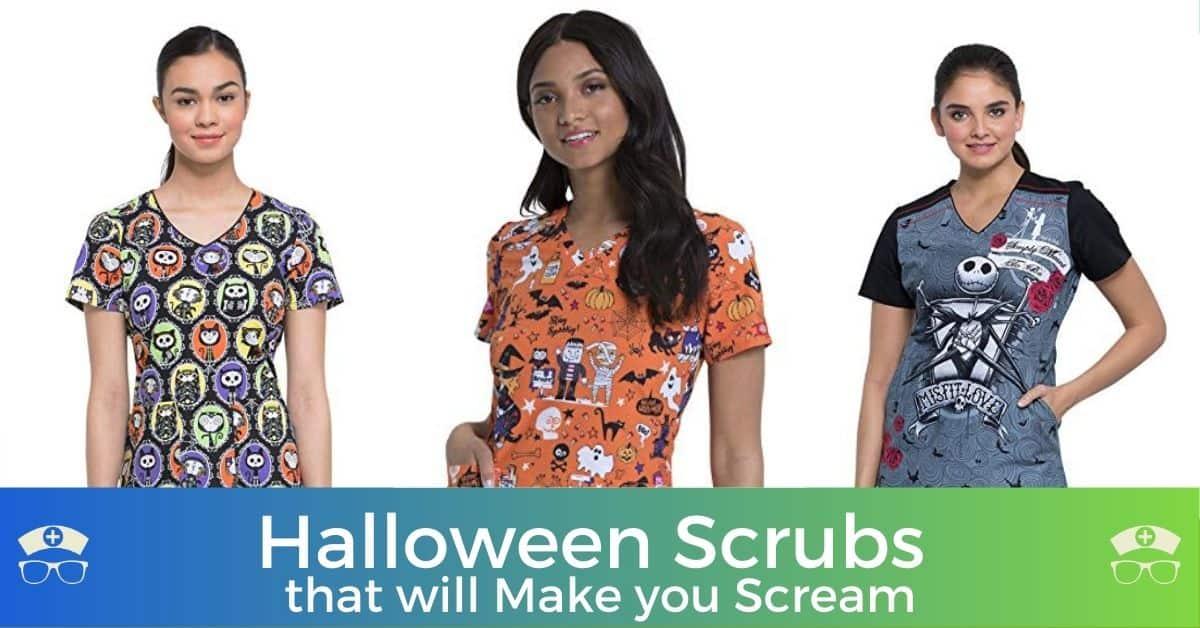 Halloween Scrubs that will Make you Scream