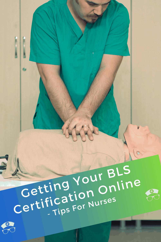 bls certification nurses getting